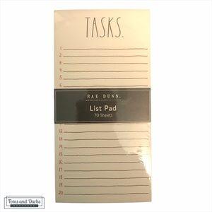 Rae Dunn TASK 70 Sheet List Pad
